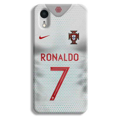Ronaldo Portugal Jersey iPhone XR Case
