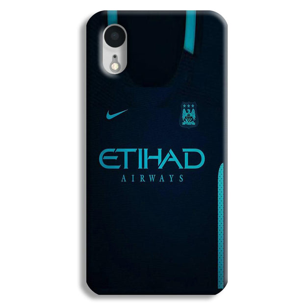 Manchester City Away Jersey iPhone XR Case