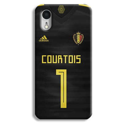 Thibaut Courtois of Club Jersy iPhone XR Case