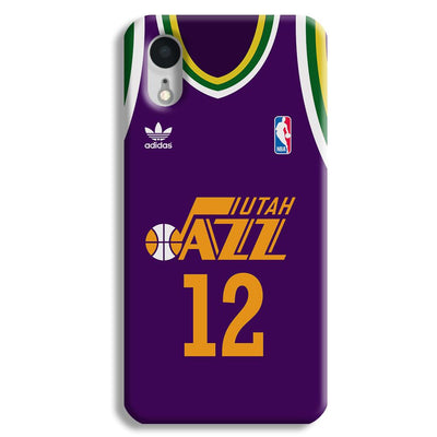 Utah Jazz iPhone XR Case