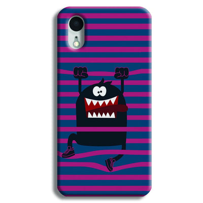 Laughing Monster iPhone XR Case