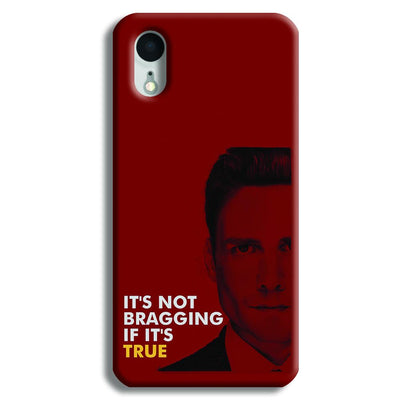 It's Not bragging if its true iPhone XR Case