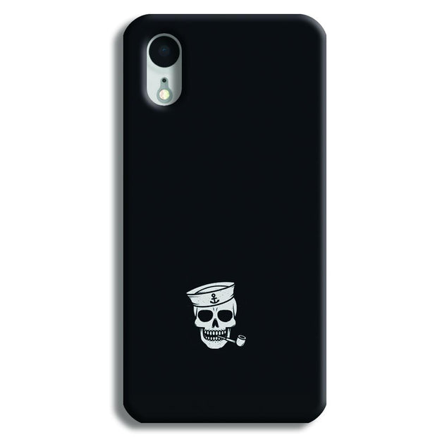 Smoking Skull iPhone XR Case
