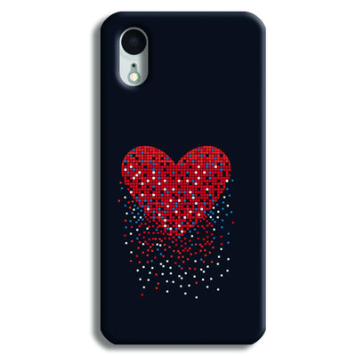 Sparkling Heart iPhone XR Case