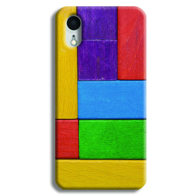 Color Block iPhone XR Case