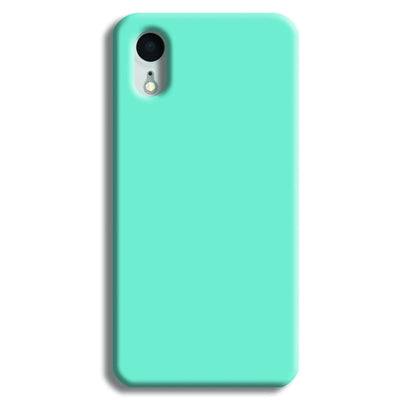 Aqua Blue iPhone XR Case