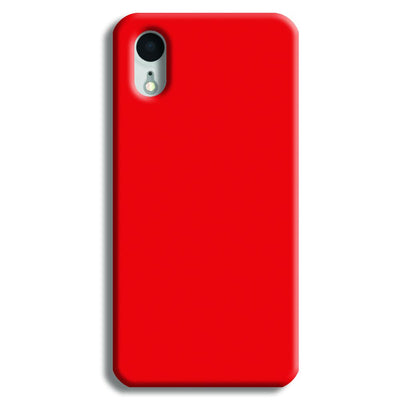 Bright Red iPhone XR Case
