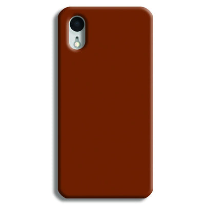 Brown iPhone XR Case
