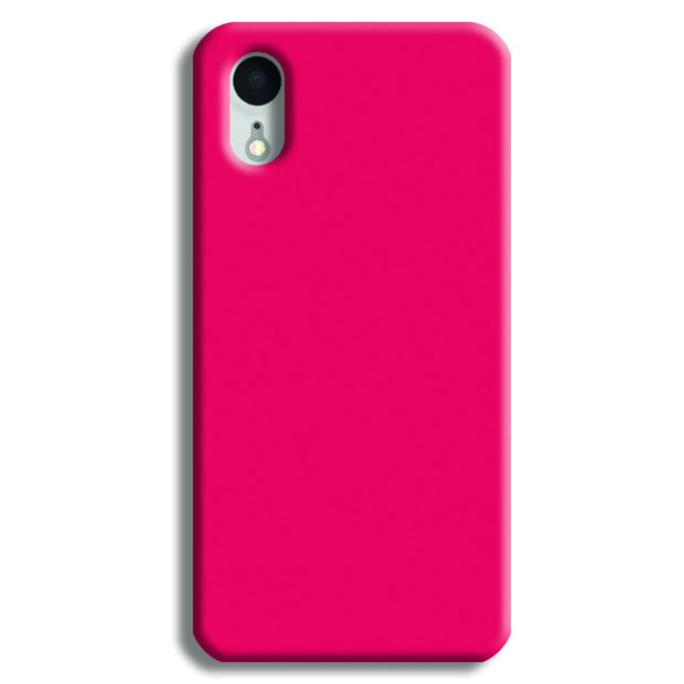 Hot Pink iPhone XR Case
