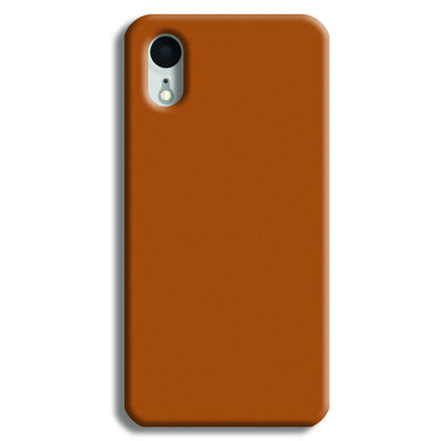 Lite Brown iPhone XR Case