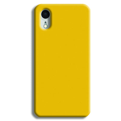 Yellow Crome iPhone XR Case