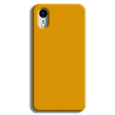 Yellow Ochre iPhone XR Case