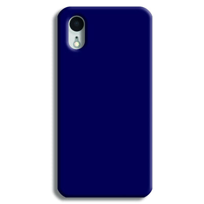 Navy Blue iPhone XR Case