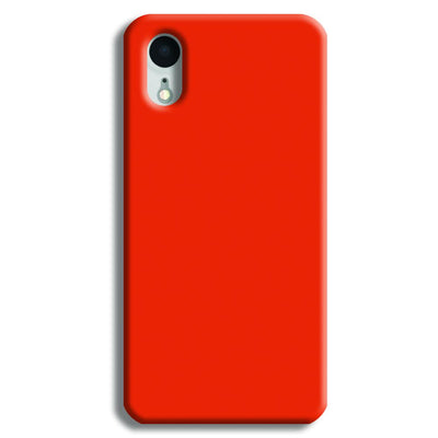 Orange iPhone XR Case