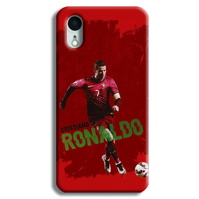 Cristiano Ronaldo iPhone XR Case