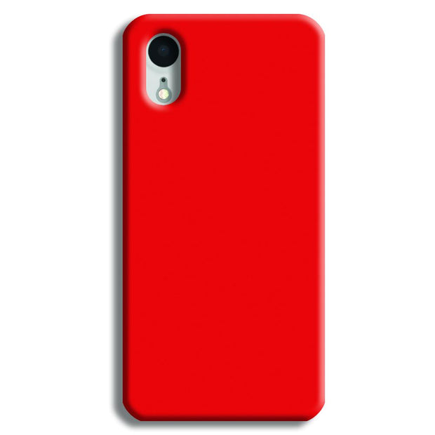 Red iPhone XR Case