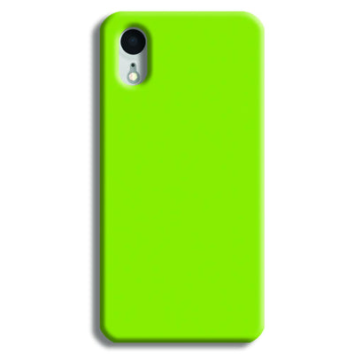 Sap Green iPhone XR Case