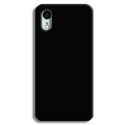 Black iPhone XR Case