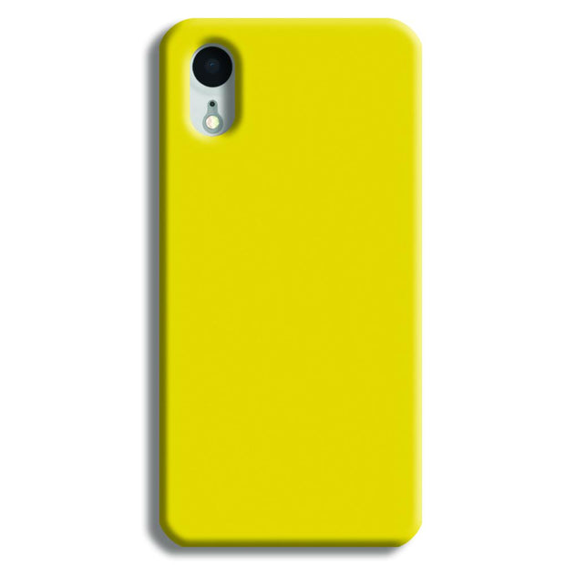 Yellow Shade iPhone XR Case