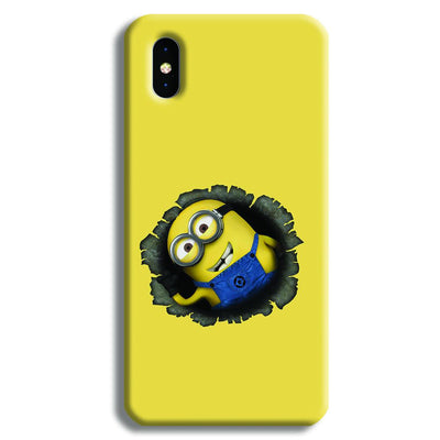 Laughing Minion iPhone XS Max Case