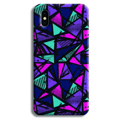 Blues Pattern iPhone XS Max Case