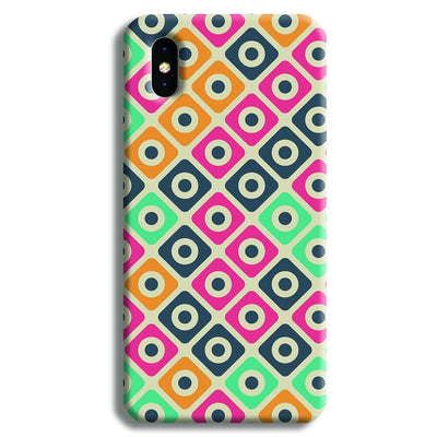 Shapes Pattern iPhone XS Max Case