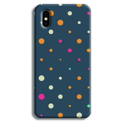Polka Dot Pattern iPhone XS Max Case