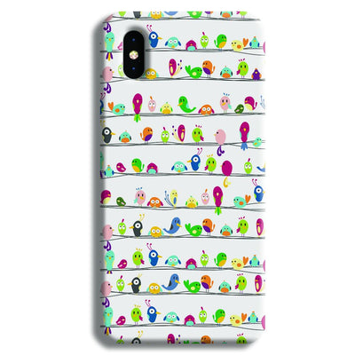 Birdies iPhone XS Max Case
