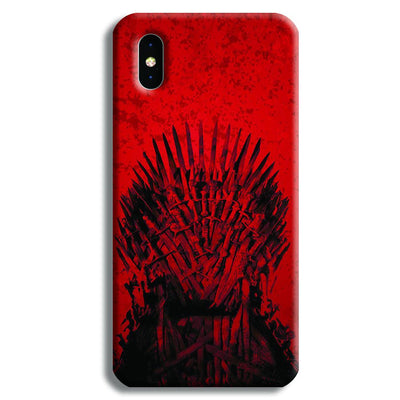 Red Hot Iron Thrones iPhone XS Max Case