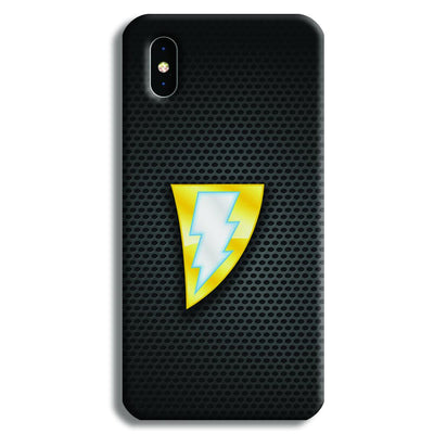 Black Adam iPhone XS Max Case