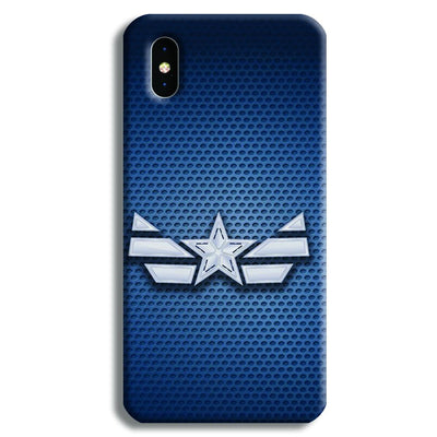 Captain America Costume iPhone XS Max Case