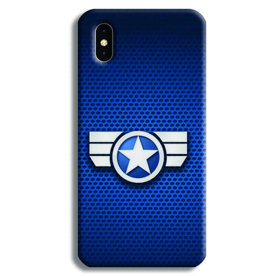 Captain America Secret Avengers iPhone XS Max Case