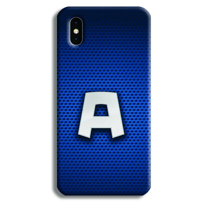 Captain America Comix iPhone XS Max Case