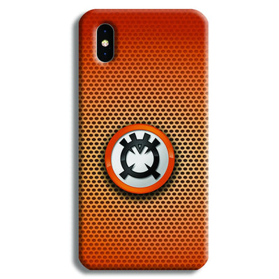 Orange Lantern iPhone XS Max Case