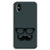 Cute mustache Gray iPhone XS Max Case