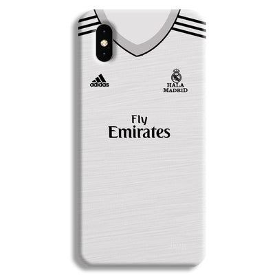 Real Madrid Home Apple iPhone XS Max Case