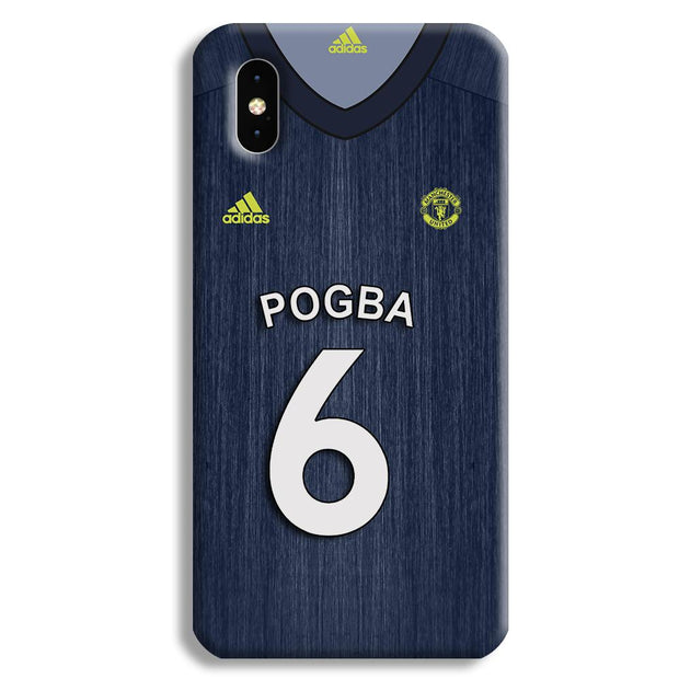 Pogba Manchester United Third Apple iPhone XS Max Case