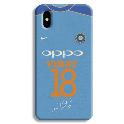 Virat Kohli Jersey Apple iPhone XS Max Case