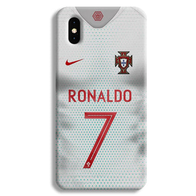 Ronaldo Portugal Jersey Apple iPhone XS Max Case