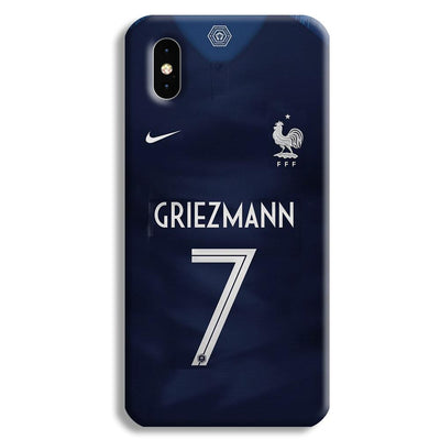 Griezmann France Jersey Apple iPhone XS Max Case