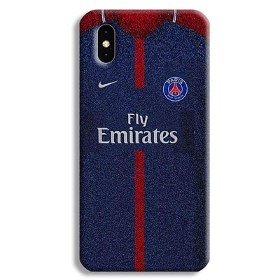 PSG Jersey Apple iPhone XS Max Case