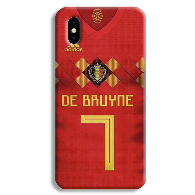 Kevin De Bruyne Jersey Apple iPhone XS Max Case