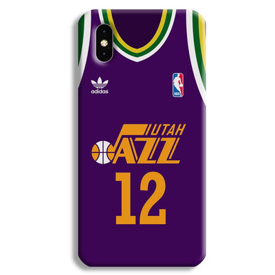 Utah Jazz Apple iPhone XS Max Case