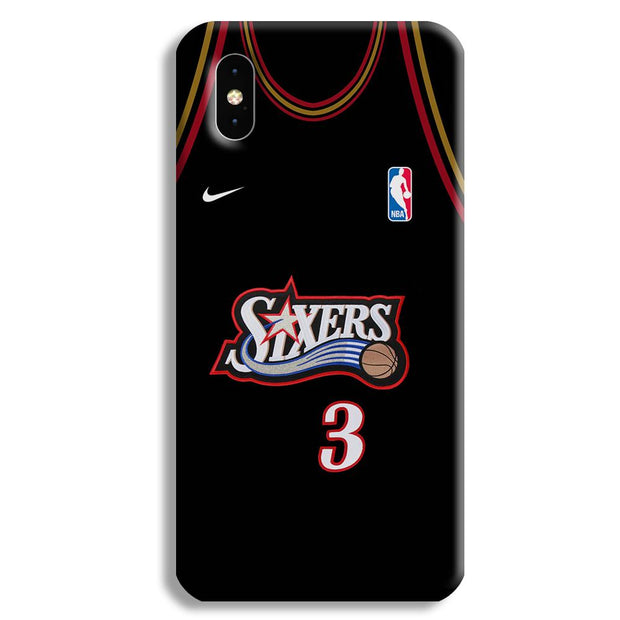 Sixers Apple iPhone XS Max Case