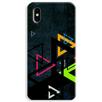 Triangular Pattern Apple iPhone XS Max Case