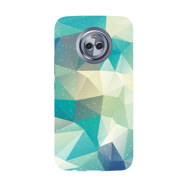 Tiles Mint Moto X4 Case