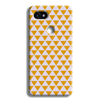 Yellow Triangle Google Pixel 2 Case