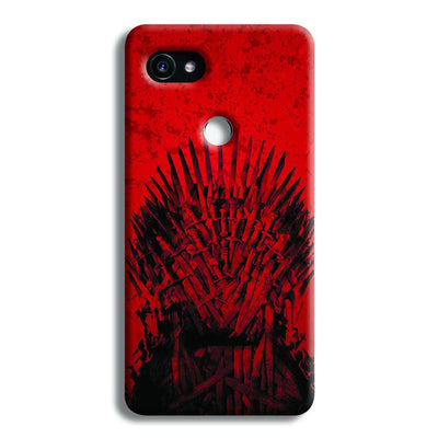 Red Hot Iron Thrones Google Pixel 2 Case