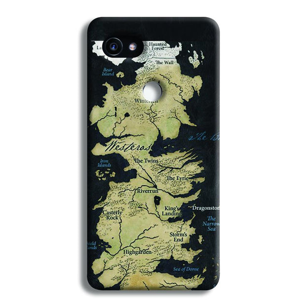 Game of Thrones Map Google Pixel 2 Case
