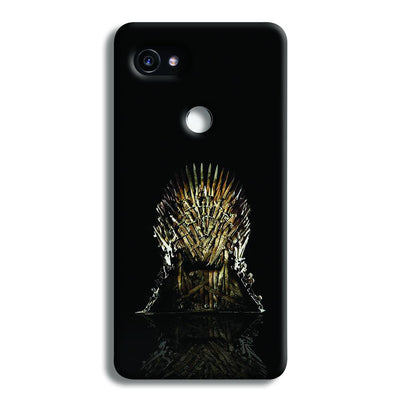Black Iron Thrones Google Pixel 2 Case